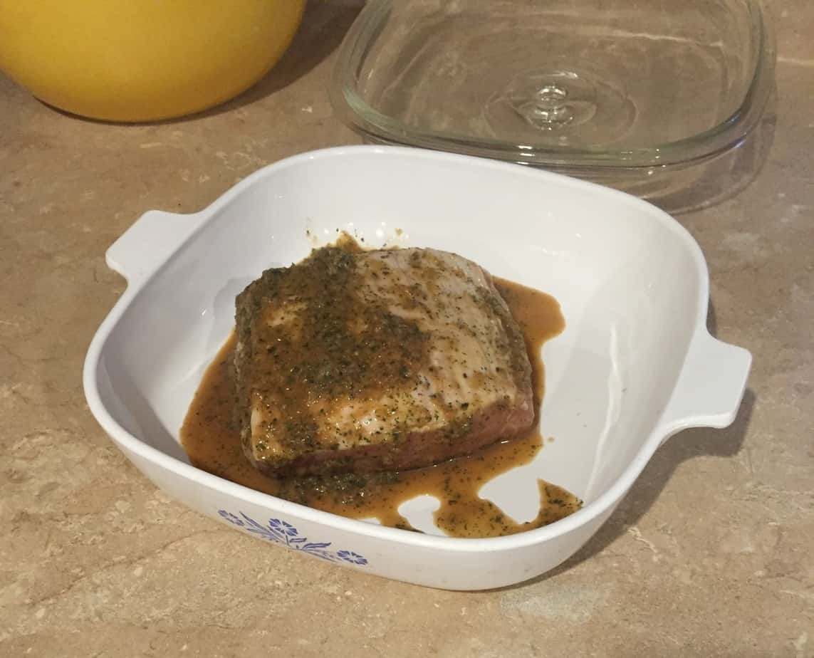 Easiest and best pork tenderloin ever!