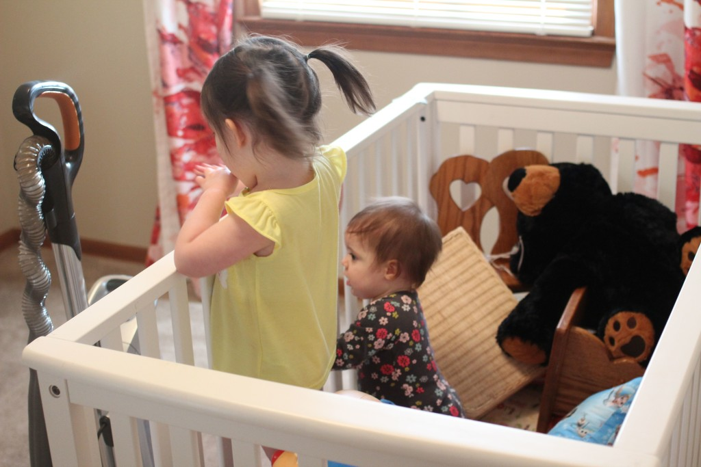 how to vacuum with little ones around - a slightly comical and very practical guide .