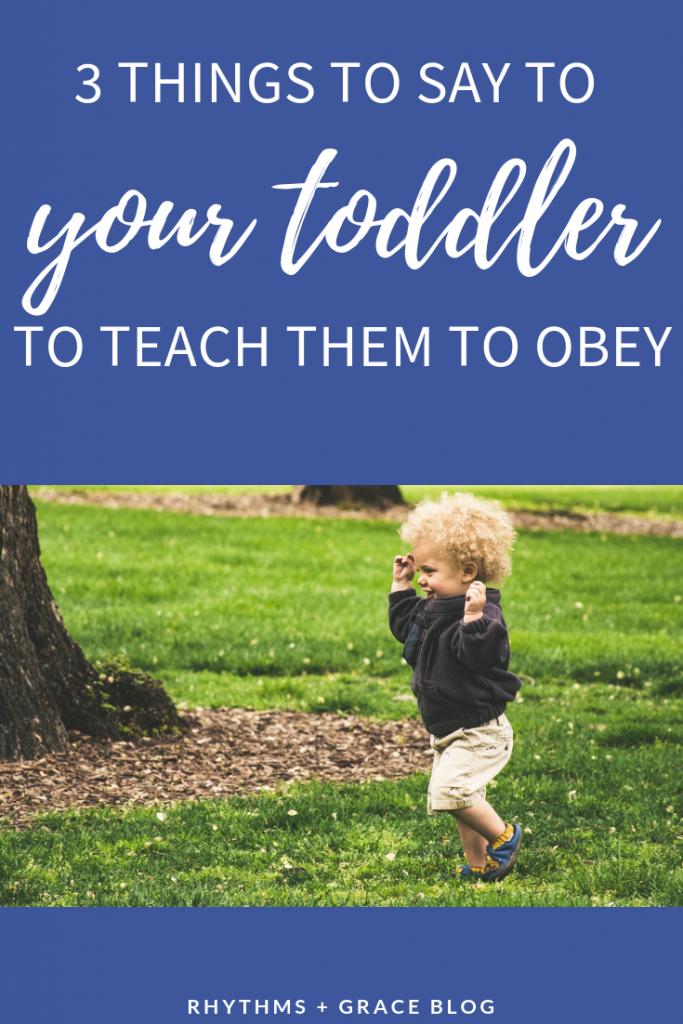 TERRIBLE TWOS behavior tips