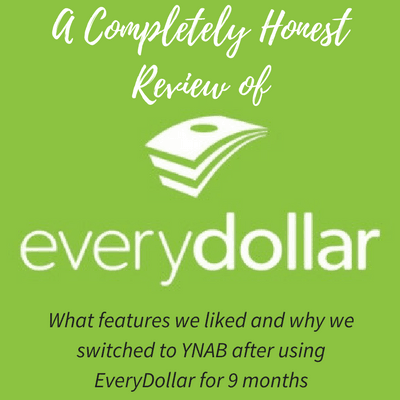 Completely Honest EveryDollar Review | Dave Ramsey's
