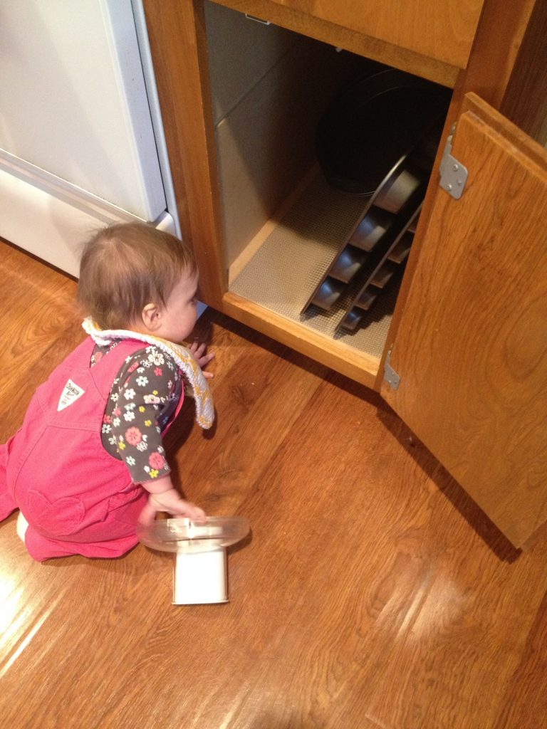 1 year old discipline