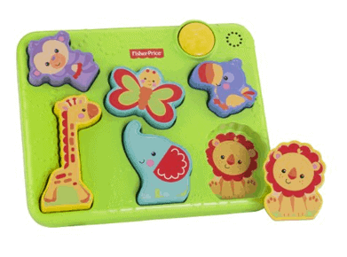 fisher price toddler puzzle