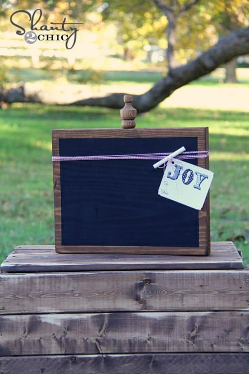 17 handmade gifts you'd actually want: DIY cheap chalkboard