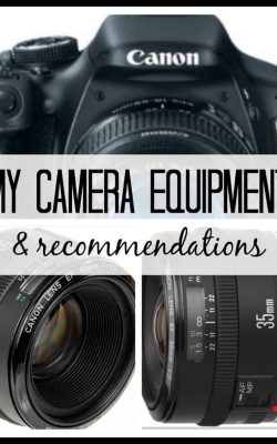 My camera equipment and recommendations. One of the posts in the AMP series. Amateur Mom Photographers: Taking Decent Pictures one crazy toddler at a time.