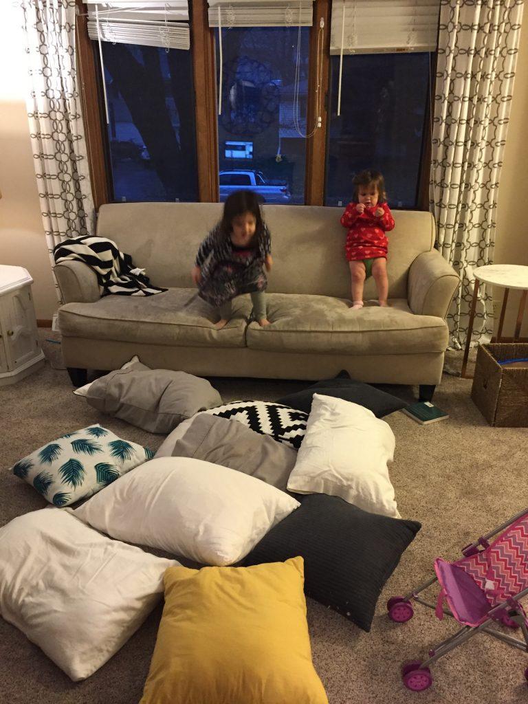 cheap, no prep, DIY homemade toddler activities