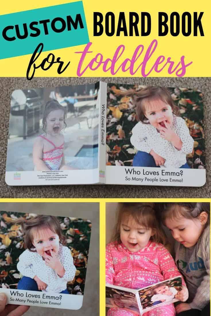 personalized photo board book