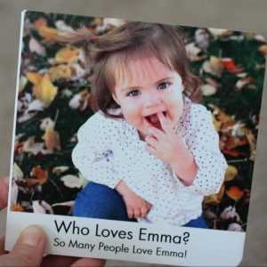 Custom Board Book Giveaway from Pint Size Productions