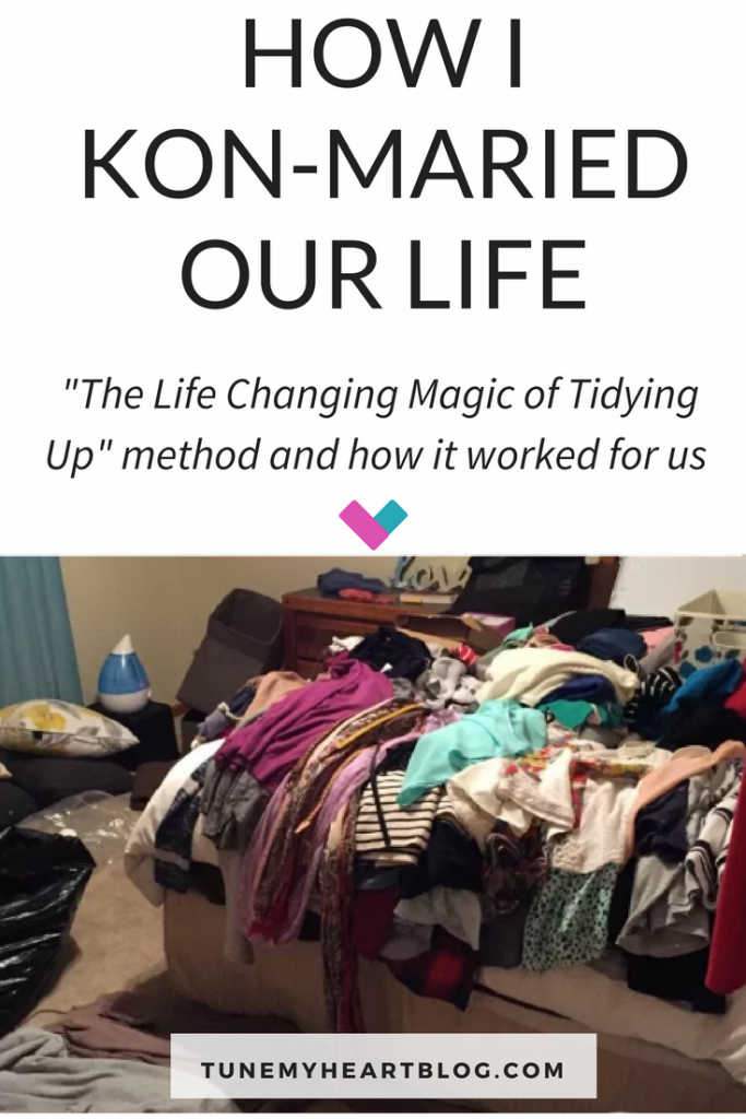 declutter entire house with marie kondo method