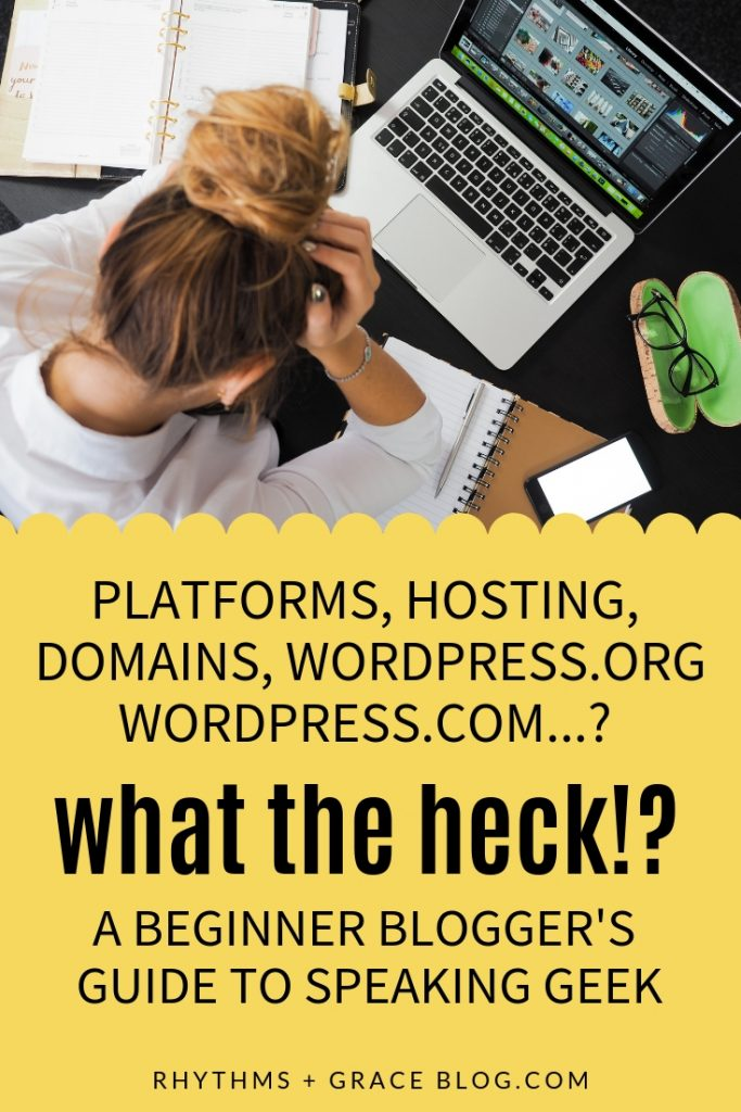 Ugh I'd been researching how to start a blog forever and FINALLY FOUND THIS post that explains hosting for beginner bloggers. If you are trying to figure out wordpress.org vs wordpress.com and how to start a blog, read this simple explanation of blog hosting before you start! #blogging #blogtips #beginnerblogs #bosslady #momblog