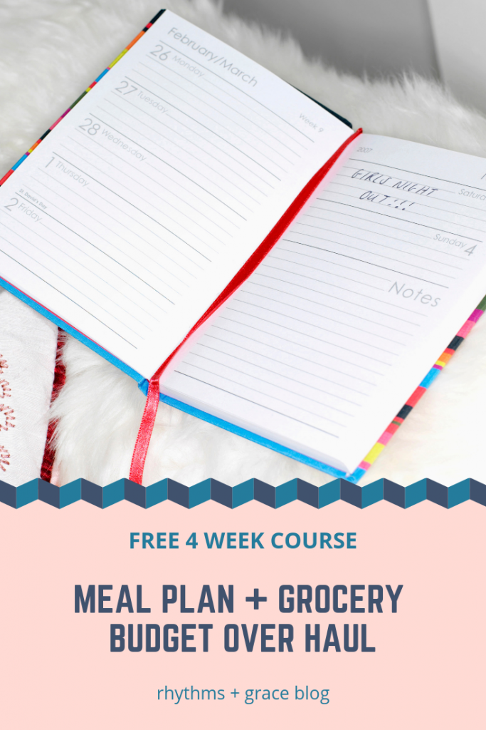Need help meal planning? Sticking to your grocery budget? this free email challenge will help you figure out meal planning tips and tricks for success. If you stink at meal planning, this is for you!
