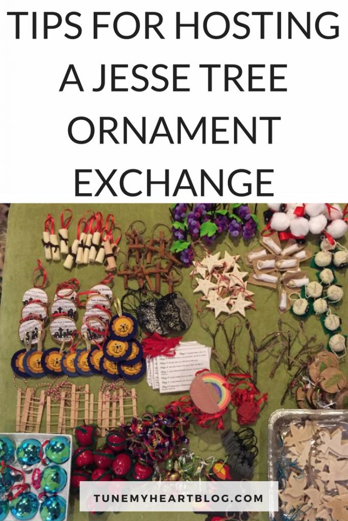 Jesse Tree Ornaments DIY   Jesse Tree Ornaments Printable   Jesse Tree Ornament Exchange   Advent With Kids