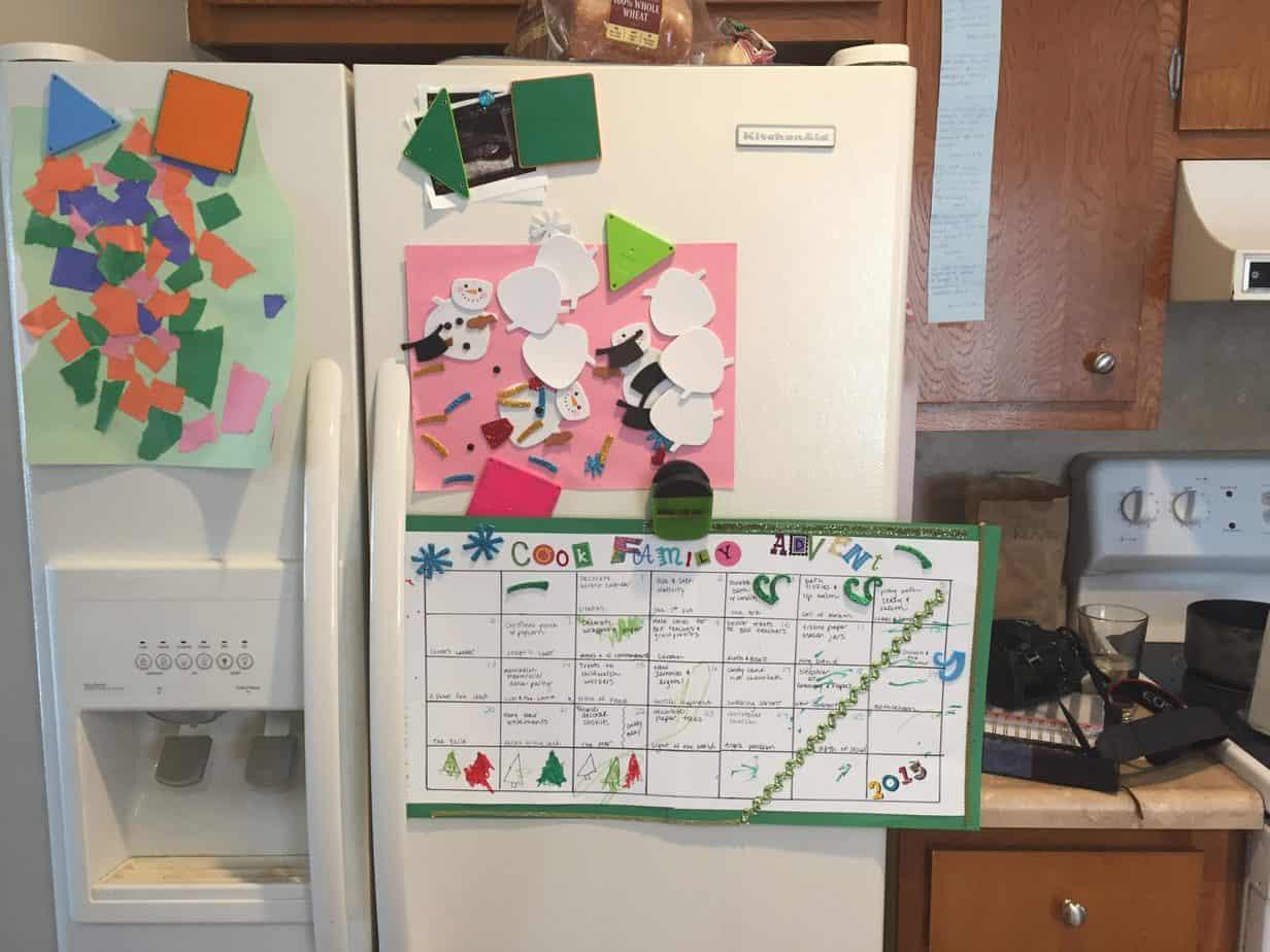 advent calendar for kids simple christmas