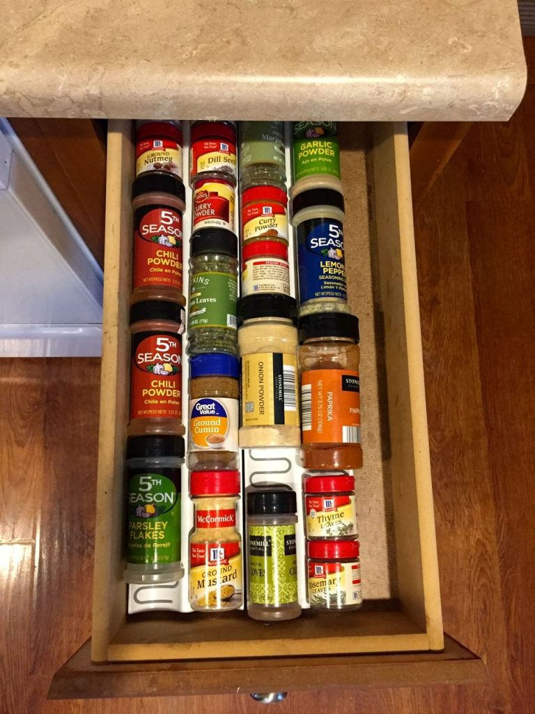 Ikea variera spice drawer organizer! $3.99 totally worth it!