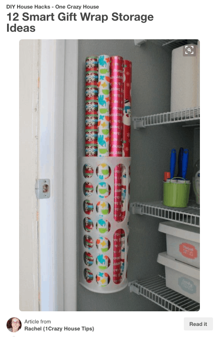 Ikea's Variera plastic bag holder for $2.99 helped organize our pantry! You can buy it on amazon too!
