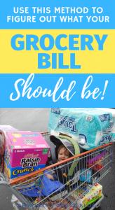 grocery bill average