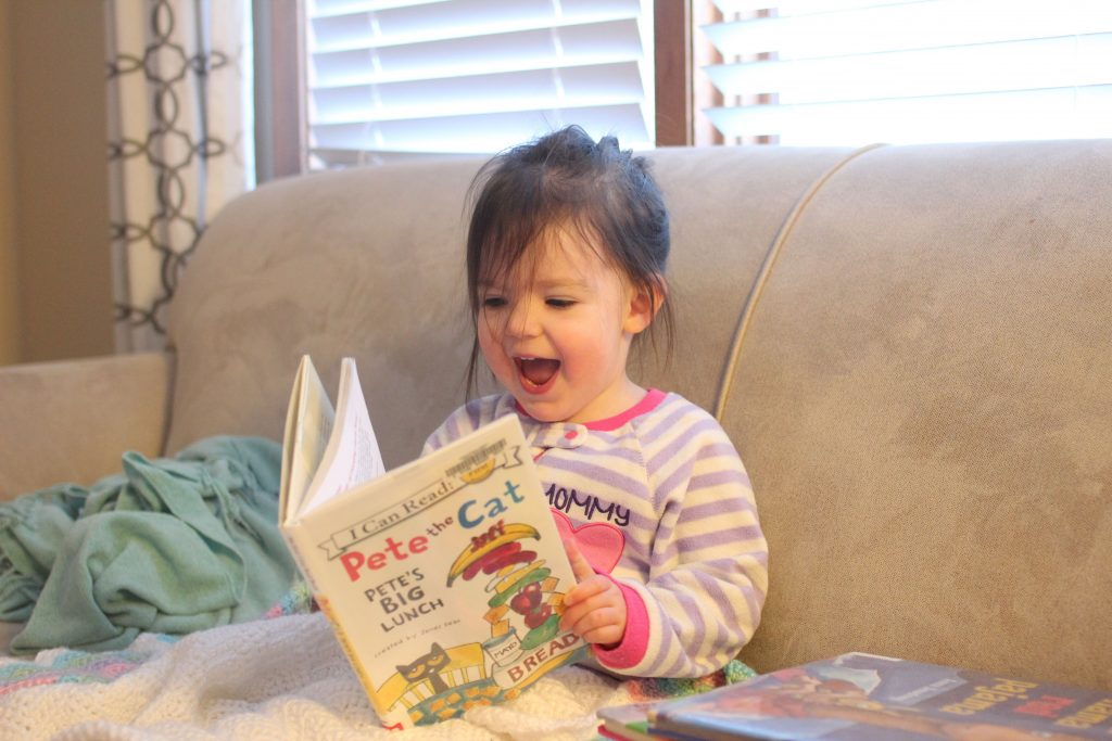 One of our goals for our kids is that they develop a love for reading from a young age. Here are 10 specific ideas to encourage reading in your home.