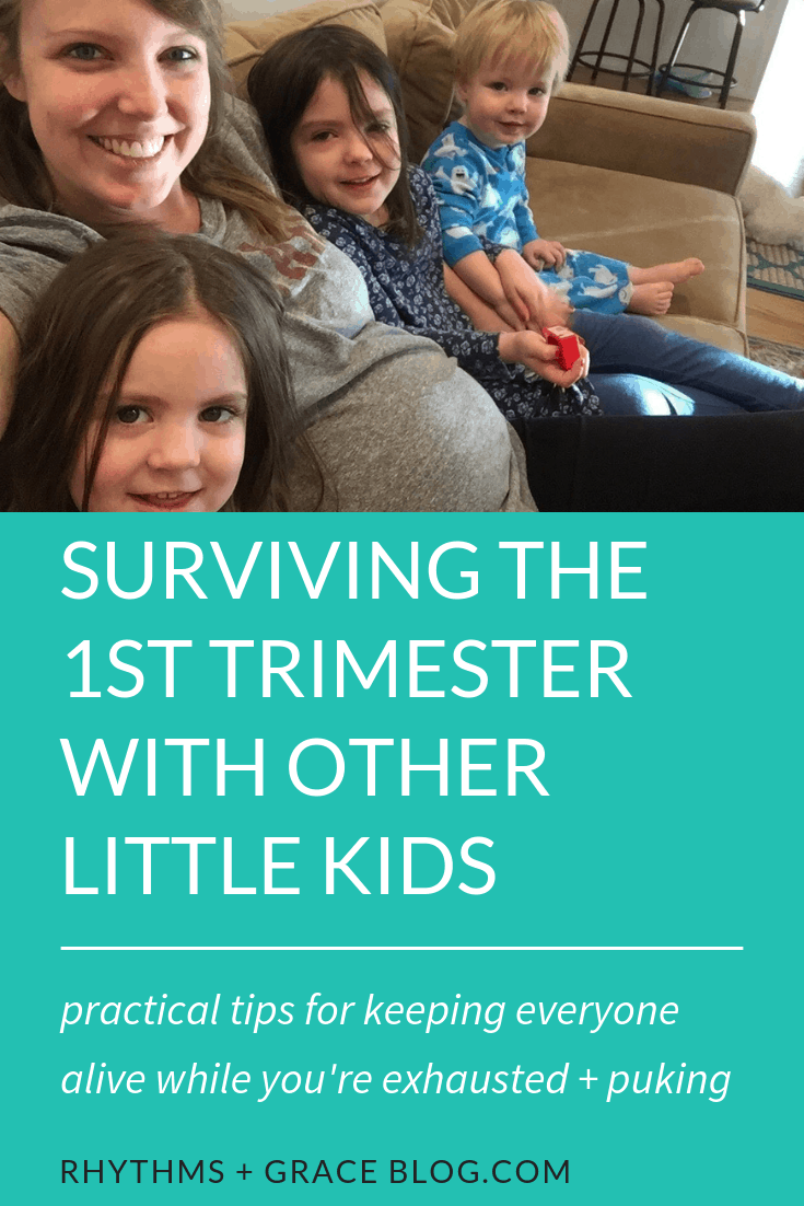 1st trimester survival mode, 1st trimester survival tips, first trimester with other kids, 1st trimester with toddler, 1st trimester tips