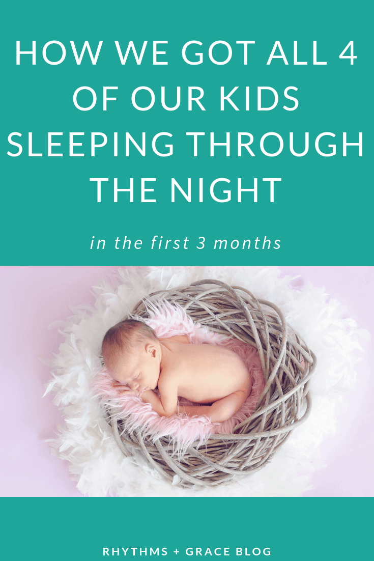 sleep train your baby | sleep through the night | infant sleep training | sleep training tips and tricks
