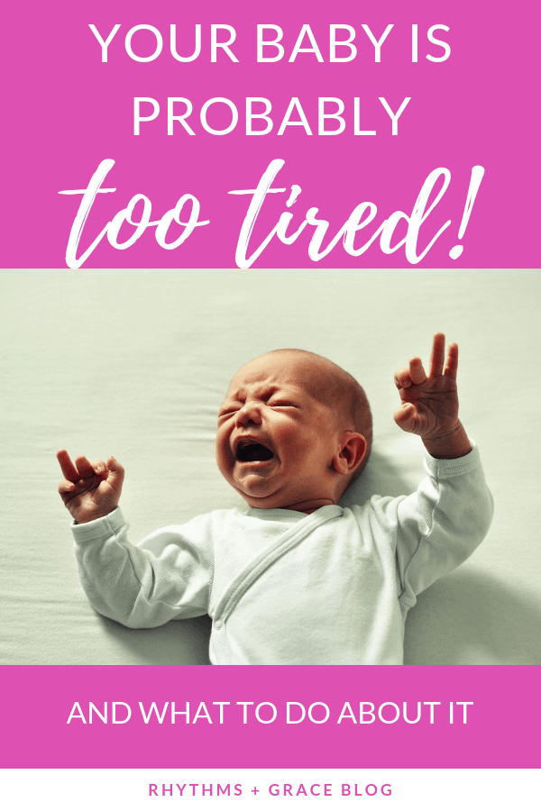 The secret to getting your baby to nap longer is not to keep them awake... it's actually to put them to sleep earlier. A mom of 4 explains why babies need longer naps than you think and how to troubleshoot naptime problems. #sleeptraining #infantsleep #babysleeptipsgetting baby to nap longer   baby cries all day   baby won't sleep   baby won't nap   get baby to go to bed earlier