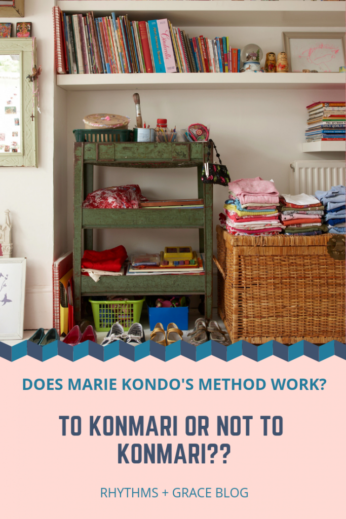 step by step explanation of the marie kondo tidying method with a free konmari method cheat sheet