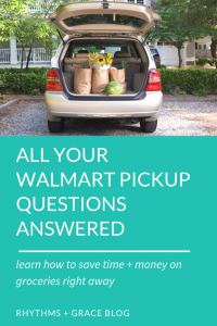 8 reasons to try Walmart pickup grocery app and a $10 off discount code for you. You will save time and money with walmart grocery app. Life hack for productivity | grocery shopping hacks