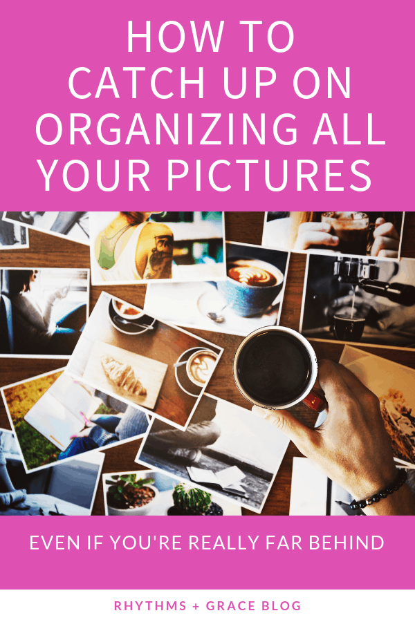After years of being behind, losing pictures and running out of storage, I figured out a system that works for organizing pictures. Wondering how to organize your photos from all devices? This is the perfect picture organizing solution! #organize #organizingtips #pictures #googlephotos Google Photos Tutorials