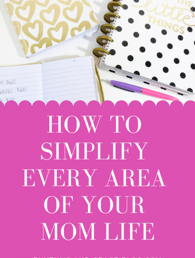 This post has principles and practical tips to help you simplify your life - ways, simplify your life as a stay at home mom, tips for minimal living.
