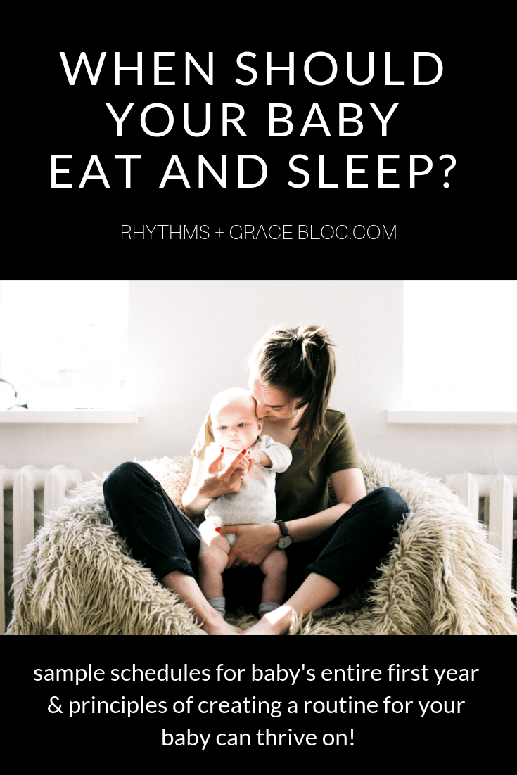 This mommy blog has a ton of great advice for getting baby to sleep well and sleep training your newborn to sleep through the night. Tons of baby sleeping tips... how to get baby on a schedule, sample Baby schedules for 4 month old, 6 month old, how to get baby to nap, what should newborn sleep schedule be?! #parenting #newborns #babyadvice #sleeptraining #momlife