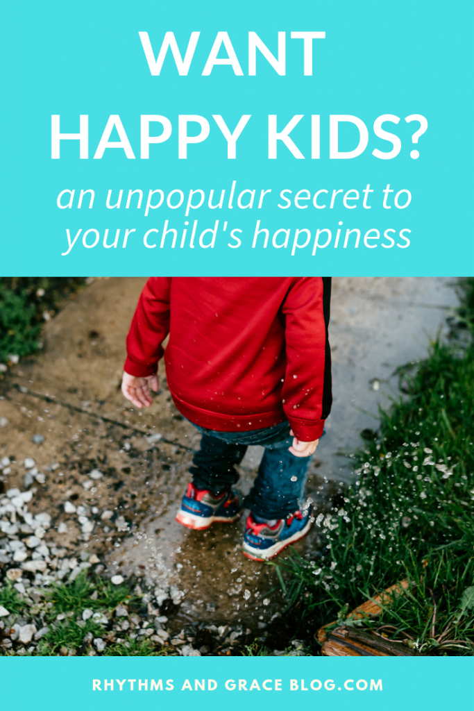 Practical tips for parenting strong willed child; why the parent led home might make your kids happier than child led parenting