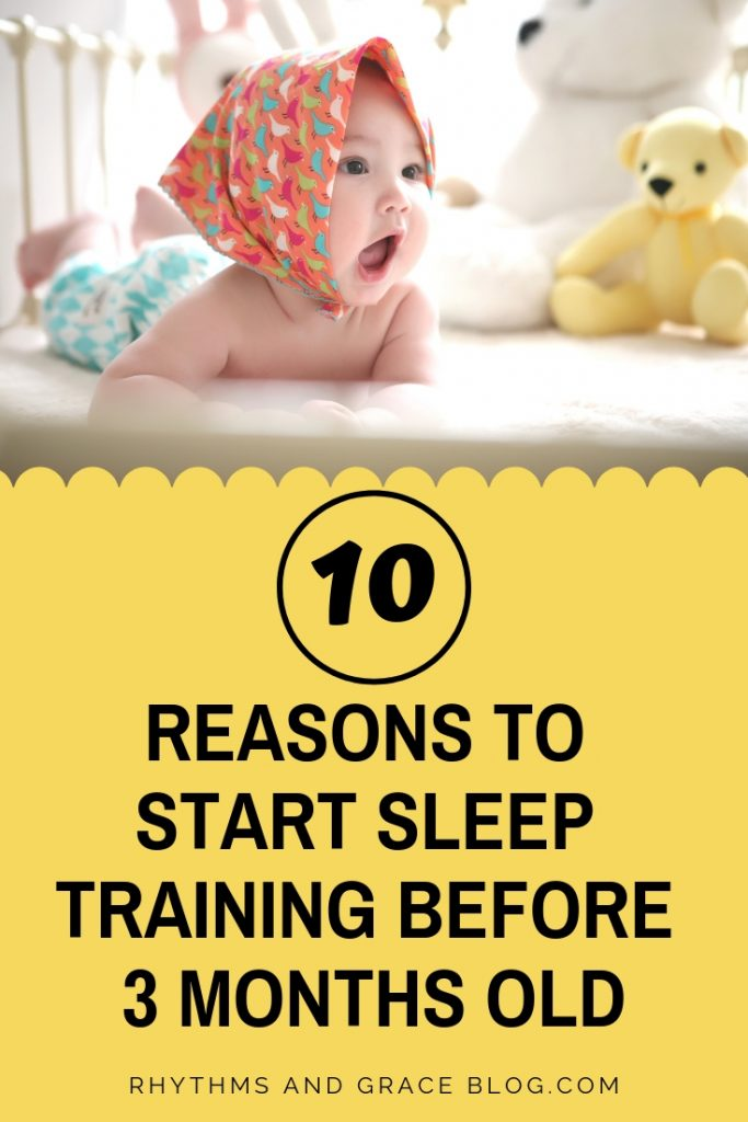 I hadn't really thought about infant sleep training yet but I'm so glad I looked it up before baby came! This is the exact approach we took and my baby was sleeping through the night by 12 weeks. So good for newborn schedules, and getting baby on a predictable schedule. If you're wondering how to sleep train your newborn by 3-4 months, check this out! #babysleep #babytips #pregnancy #parentingtips
