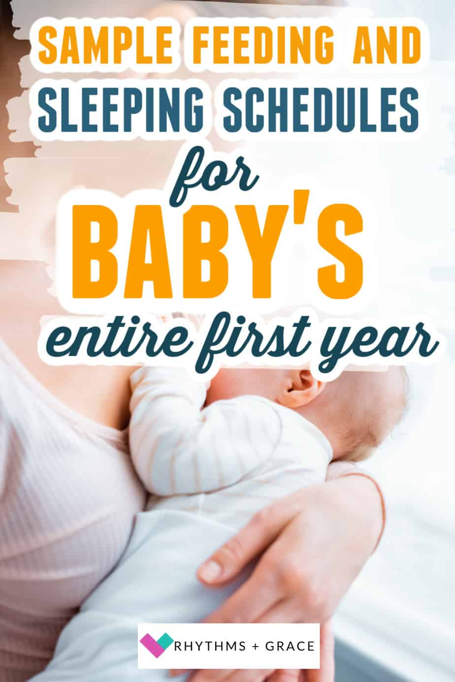 Sample schedules baby's first year
