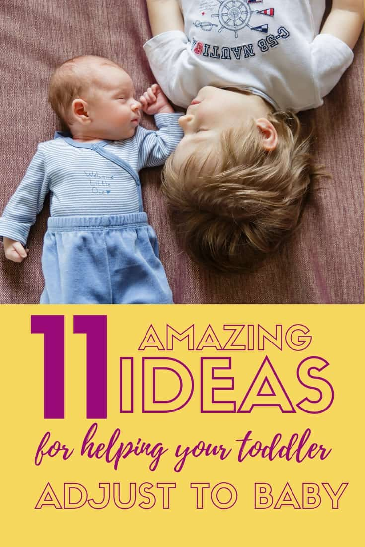 OMG! If you have a second baby on the way, read this!! Such good ideas for helping older siblings cope with the new baby - espeically if you'll have 2 under 2 or want toddler and newborn tips! #momlife #motherhood #parenting #toddlers #baby #newborn