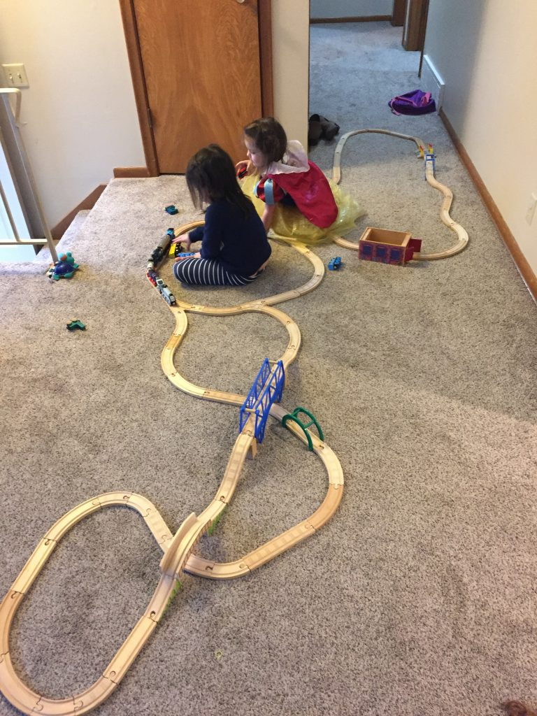 nursing activities for toddlers: trains