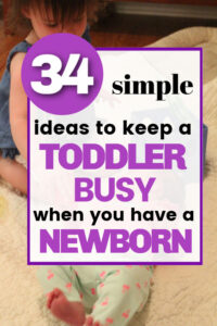 what to do with newborn and toddler 34 ideas