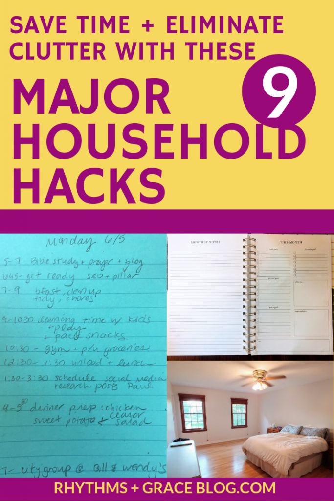 household hacks to simplify your life