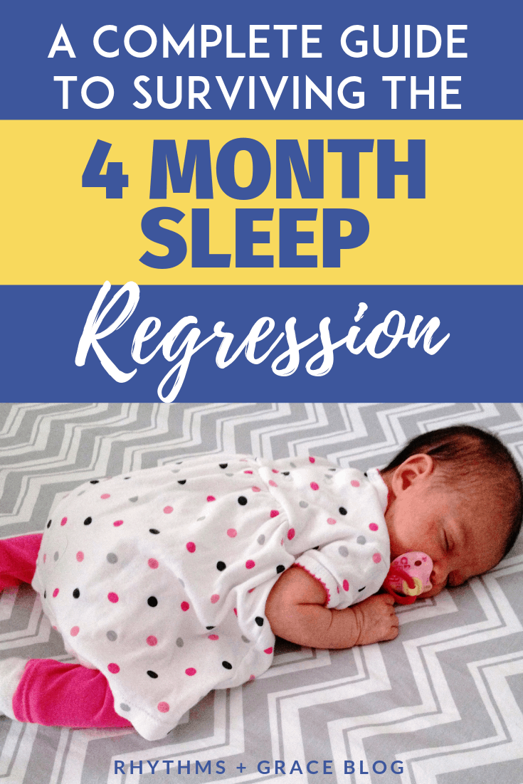 4 month sleep regression