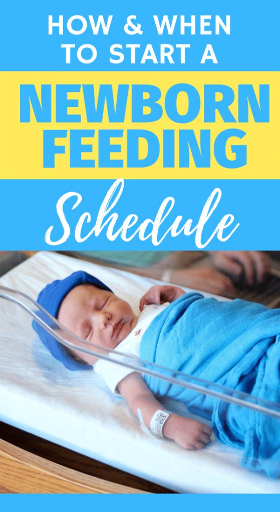 newborn feeding schedule
