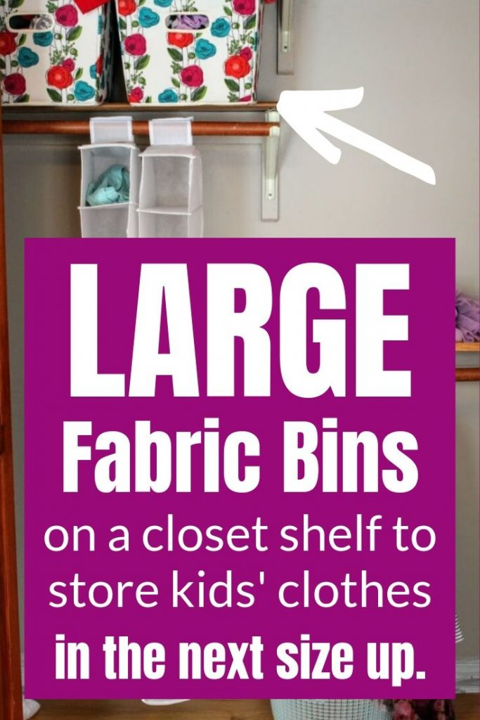 store extra kids clothes