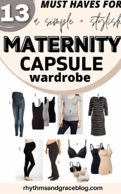 what maternity clothes do i really need