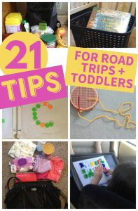 ROAD TRIP TODDLERS TIPS