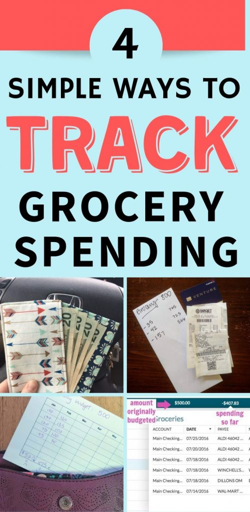 how to track grocery spending