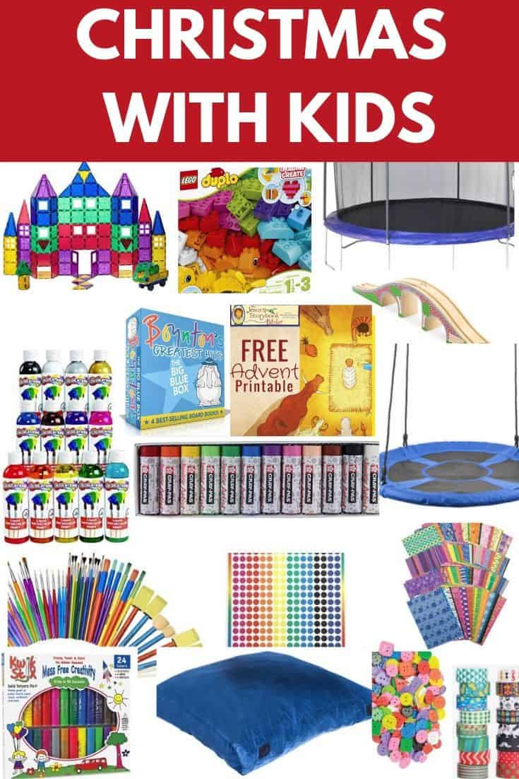 christmas with kids and gift guide