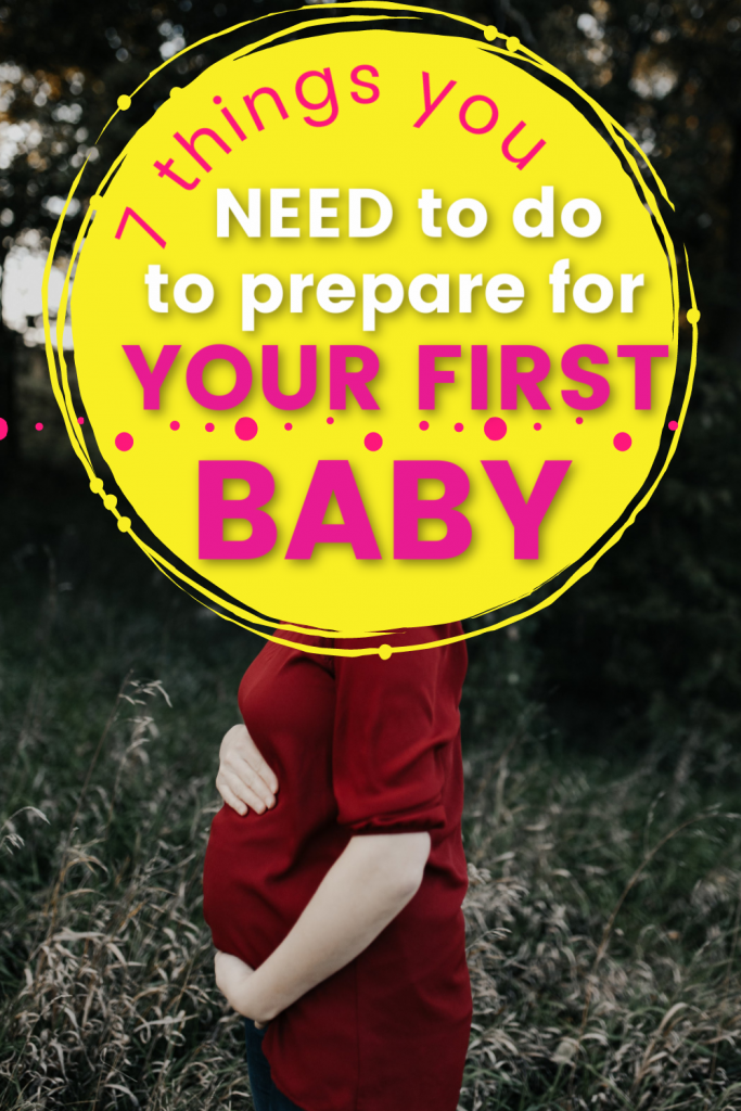 preparing for baby first time tips