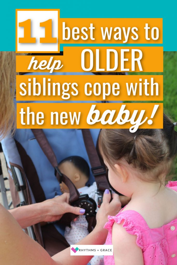 help toddler adjust to baby