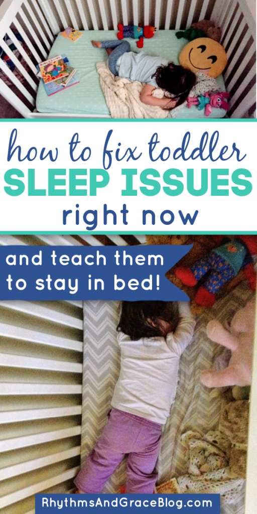 2 year old sleep schedule habits issues