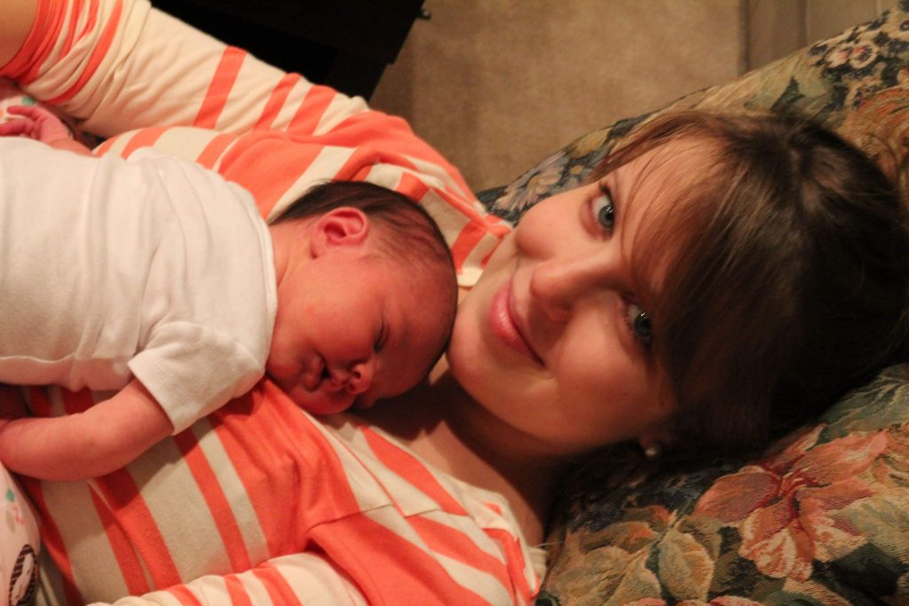 The truth about bringing a newborn baby home