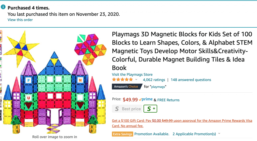 fun toddler gifts off brand magnatiles