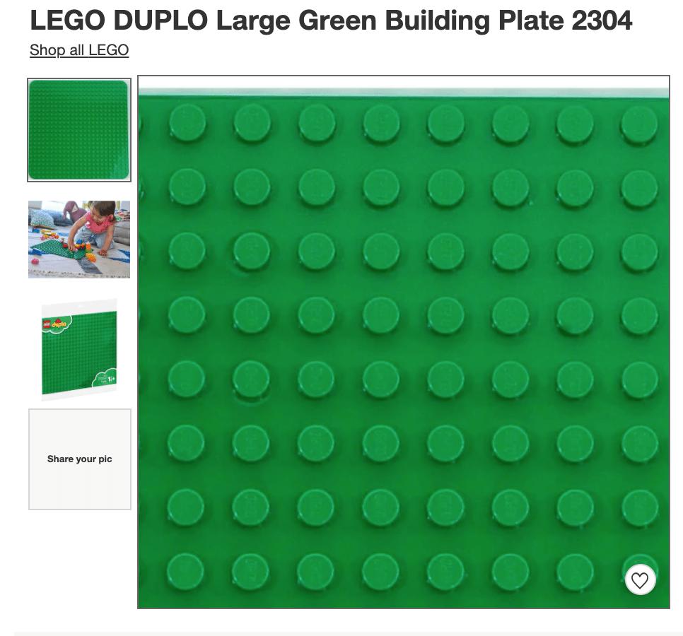 fun toddler toys duplos with large base plates