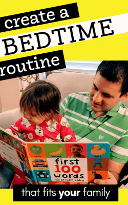 bedtime routine chart for kids tips