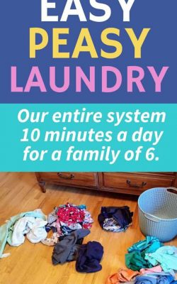 overwhelmed by laundry try easy peasy laundry